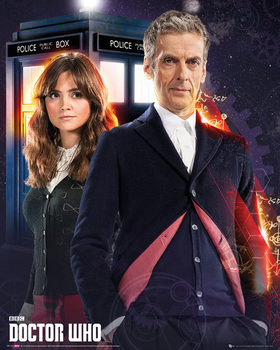 Doctor Who - Doctor and Clara Affiche