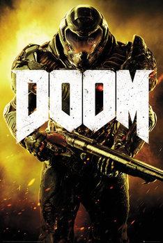 Doom - Marine Affiche