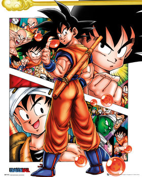 Dragon Ball - Collage Affiche