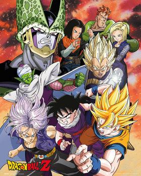 Dragon Ball Z - Cell Saga Affiche