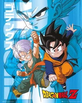 Dragon Ball Z - Trunks and Goten Affiche