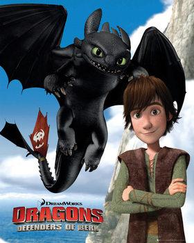 Dragons: Cavaliers de Beurk Affiche