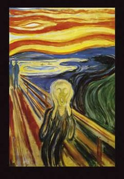 Edvard Munch - Scream  Affiche