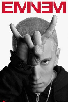 Eminem - horns Affiche