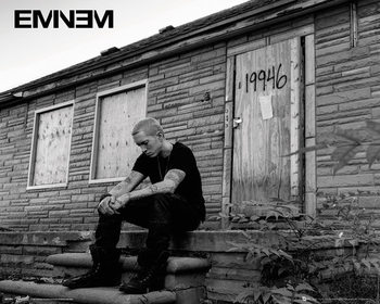 Eminem - LP 2 Affiche
