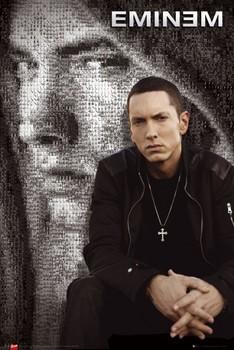 Eminem - mosaic Affiche