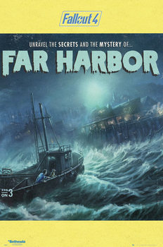 Fallout 4 - Far Harbour Affiche