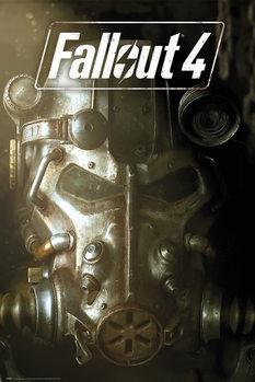 Fallout 4 - Mask Affiche