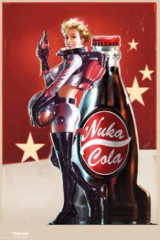Fallout 4 – Nuka Cola Affiche