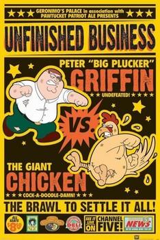 FAMILY GUY - chicken fight Affiche