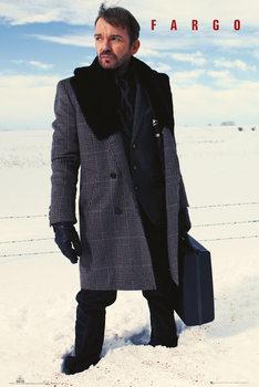 Fargo - Lorne Malvo Snow Blood Affiche