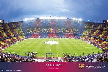 FC Barcelona - Camp NOU Affiche