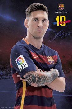FC Barcelona - Messi Pose 2015/2016 Affiche