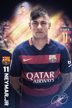 FC Barcelona - Neymar 15/16 Affiche