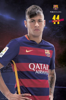 FC Barcelona - Neymar Jr. 15/16 Affiche