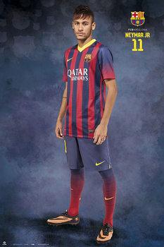 FC Barcelona - Neymar Jr. Pose Affiche