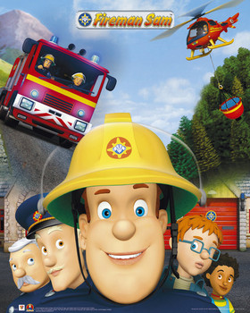 Fireman Sam Affiche