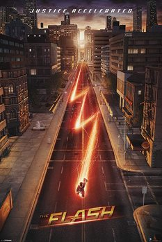Flash - Lightning Affiche