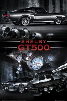 Ford Shelby - Mustang gt 500 Affiche
