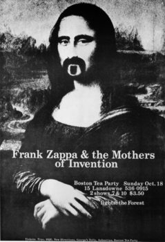 Frank Zappa & the Mothers of invention - Mona Lisa Affiche