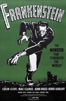 FRANKENSTEIN Affiche