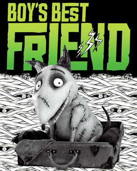 FRANKENWEENIE - best friend Affiche