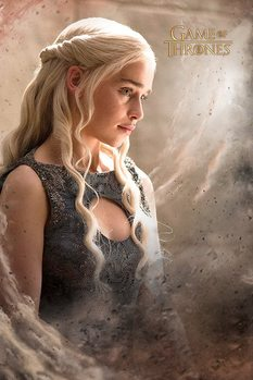 Game of Thrones - Daenarys Affiche