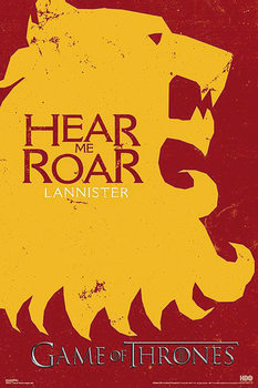 Game of Thrones - Lannister Affiche