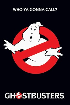 GHOSTBUSTERS - logo Affiche