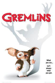 GREMLINS - one sheet Affiche