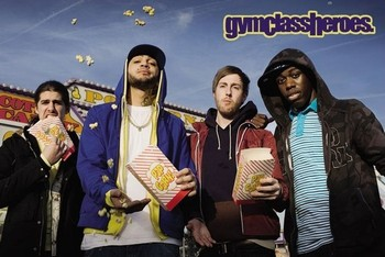 Gym Class heroes - popcorn Affiche