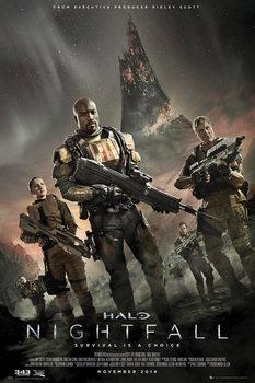 Halo: Nightfall - Key Art Affiche