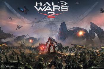 Halo Wars 2 - Key Art Affiche