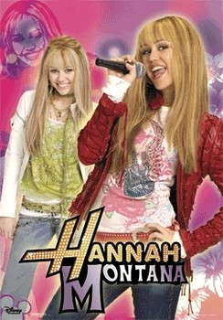 HANNAH MONTANA - day and night  Poster en 3D