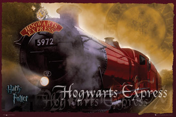 HARRY POTTER - hogwarts express Affiche
