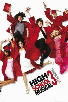 HIGH SCHOOL MUSICAL 3 - one sheet Affiche