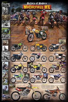 History of modern motocross Affiche