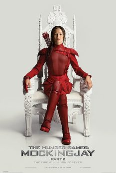 Hunger Games – La Révolte : partie 2 - Throne Affiche