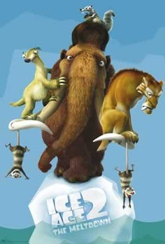 ICE AGE 2 - group Affiche
