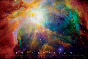 Imagination - nebula Affiche