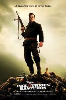 INGLOURIOUS BASTARDS - bodies Affiche