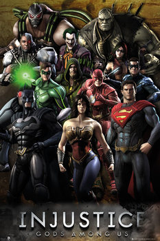 INJUSTICE - group  Affiche