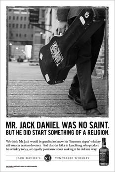Jack Daniel's - no saint Affiche