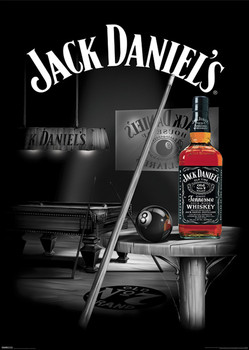 Jack Daniels - pool rooms Affiche