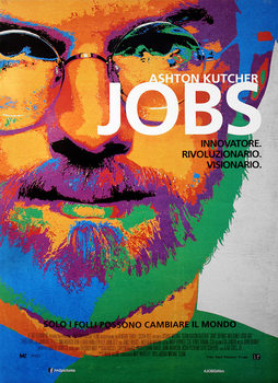 Jobs - Ashton Kutcher as Steve Jobs Affiche