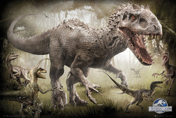 Jurassic World - Raptors Affiche