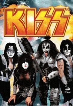KISS Poster en 3D