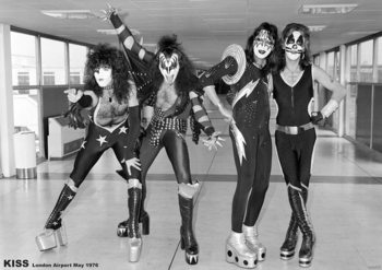 Kiss - London 1976 Affiche