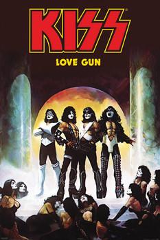 Kiss - love gun Affiche