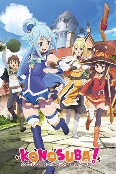 KonoSuba: God's Blessing on This Wonderful World! - Key Art Affiche